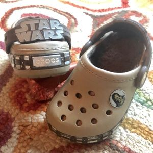 Star Wars Crocs- Cozy Fleece Lined